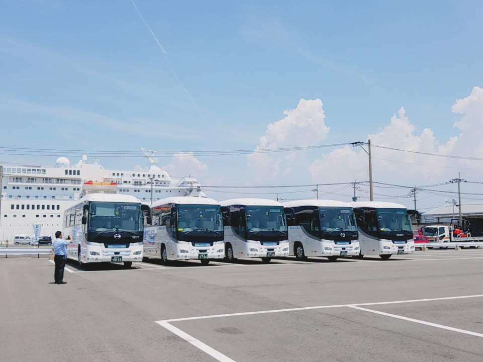 マリン観光バス ASV 先進安全自動車