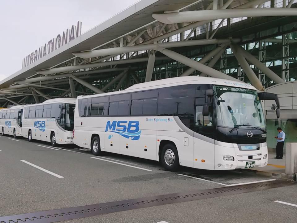 マリン観光バス 福岡空港国際線