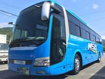 大型バス 三菱ふそう エアロエース 168 サロンタイプ 除菌バス ASV